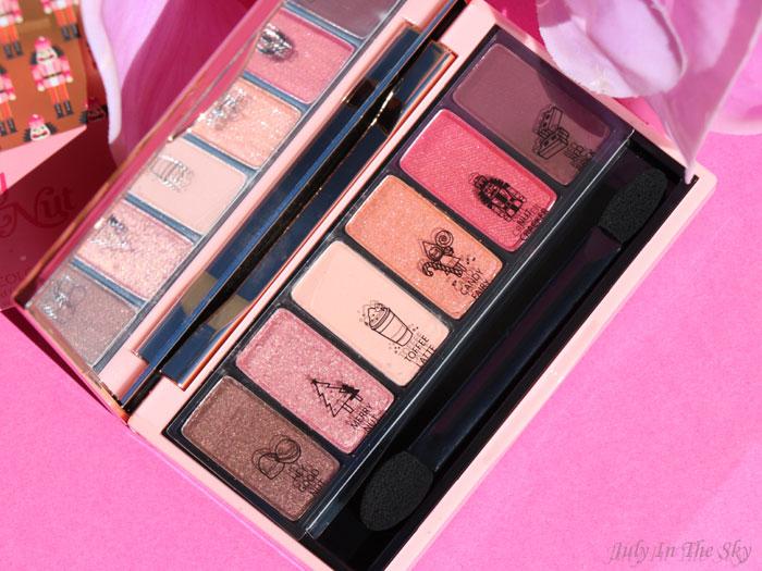 blog beauté  etude house my little nut fantastic color eyes