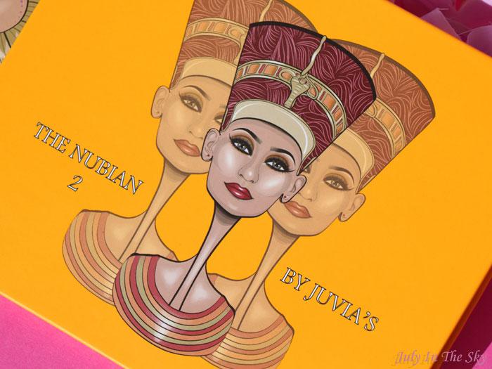 blog beauté juvias place the nubian 2 avis swatch