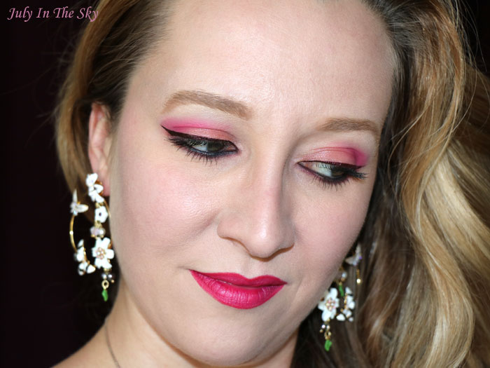 blog beauté liner glam rock extreme color eyes too cool for school swatch burgundy