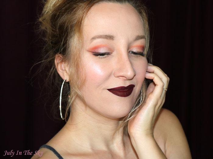blog beauté make-up saint valentin kat von d juvia's place