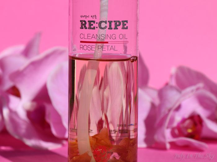 blog beauté Rose Petal Cleansing Oil RE:CIPE avis