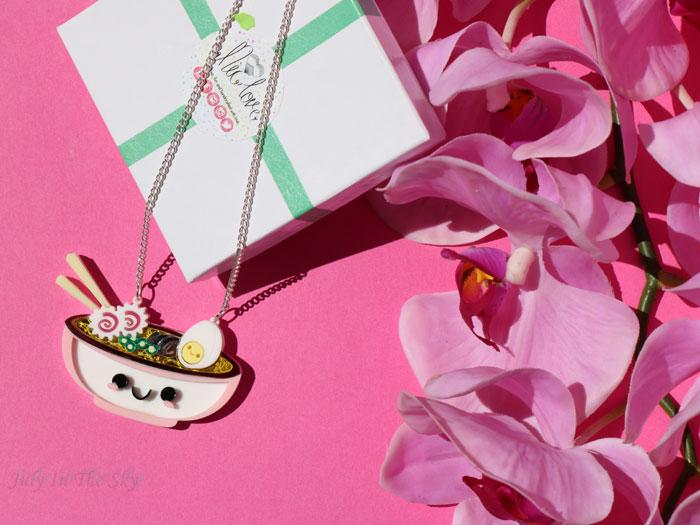 blog beauté FromNicLove collier pendentif ramen