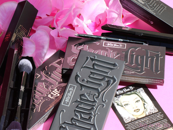 blog beauté kat von d shade + light eye contour palette brush