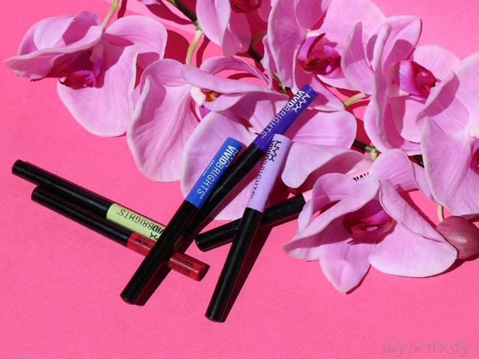 blog beauté nyx vivid brights liner