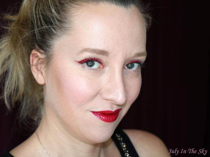 blog beauté nyx vivid brights liner fire