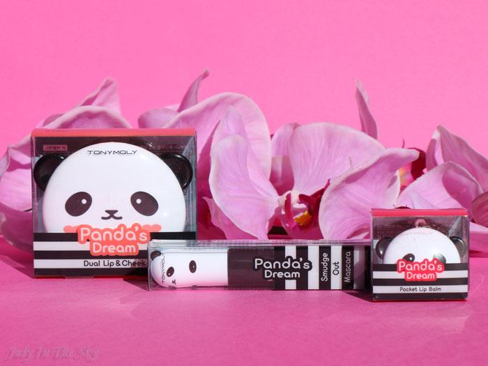 blog beauté tonymoly panda's dream