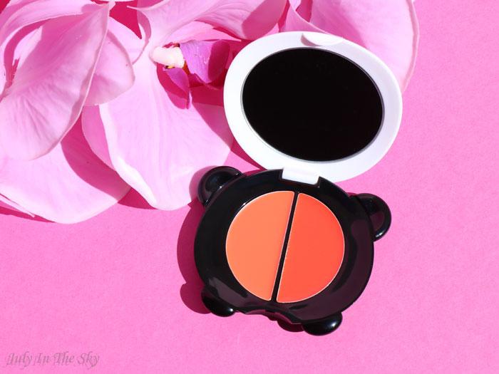 blog beauté tonymoly panda's dream dual lip and cheek