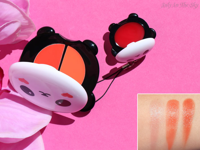 blog beauté tonymoly panda's dream  swatch