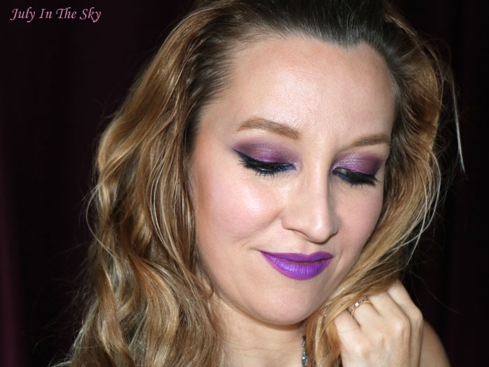 blog beauté kiko velvet matte lipstick crazy colours 321 orchid violet