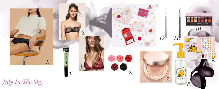 blog beauté wishlist holika holika girls in paris etude house anastasia beverly hills sigma colourpop thinx