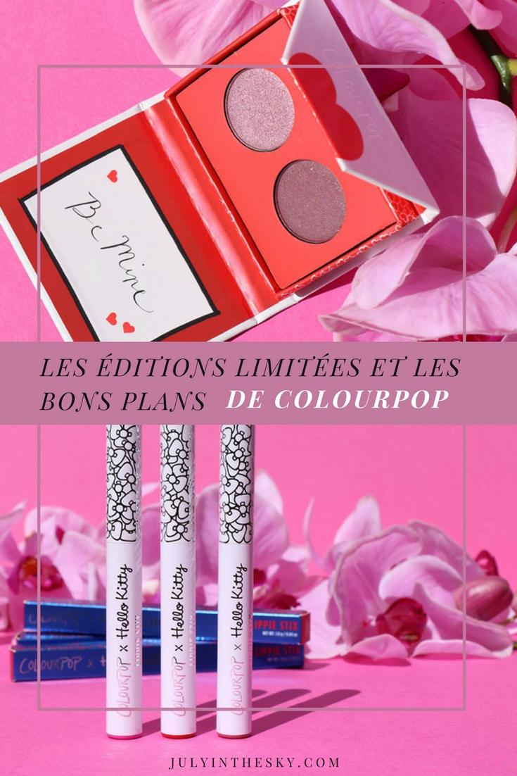 blog beauté Colourpop