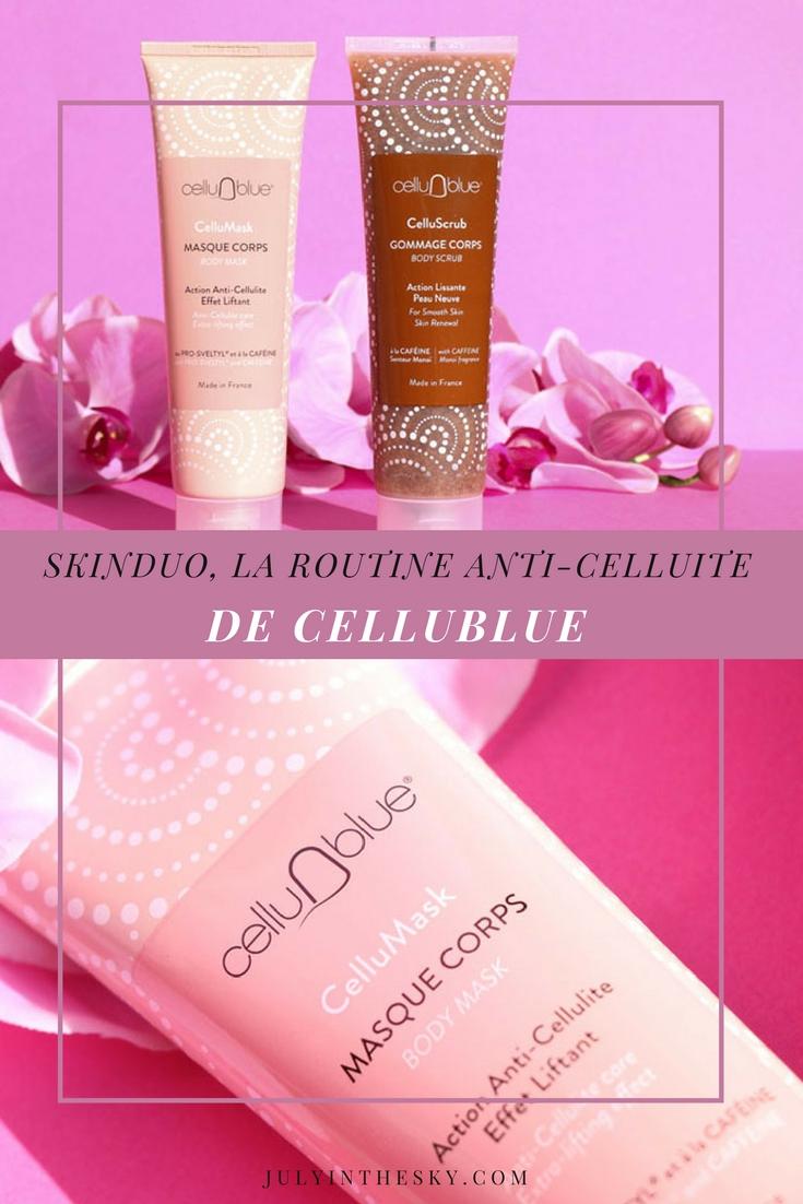 blog beauté skinduo cellublue anti-cellulite