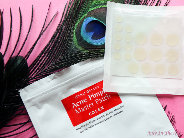 blog beauté cosrx acne pimple master patch solution bouton