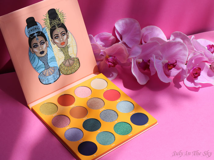 blog beauté juvia's place the magic palette