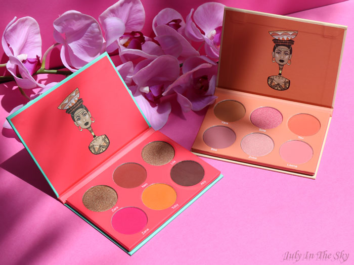 blog beauté juvia's place the saharan blush palette vol.1 et 2