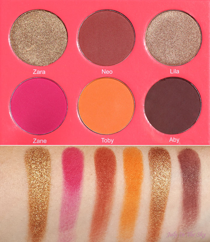 blog beauté juvia's place the saharan blush palette vol.1