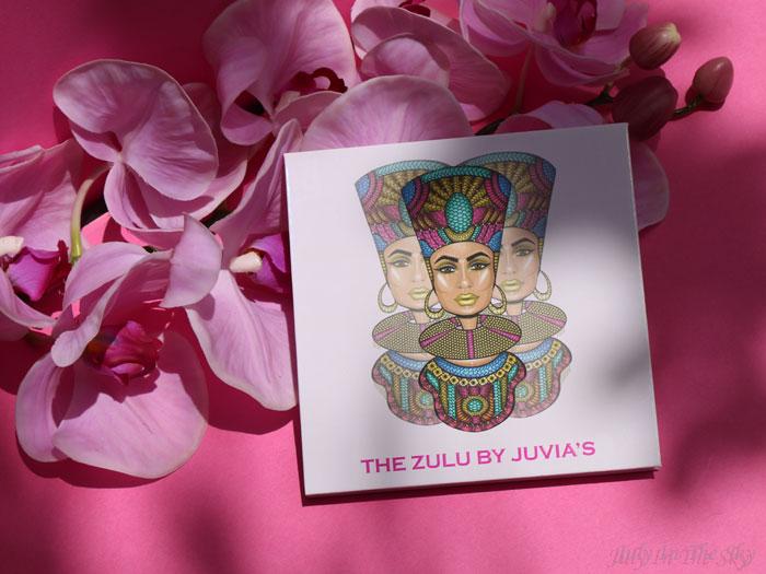 blog beauté juvia's place the zulu palette