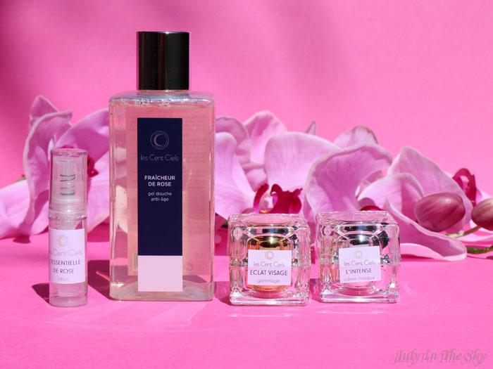 blob beauté Les Cent Ciels bains hammam fraicheur rose intense gommage éclat essentielle