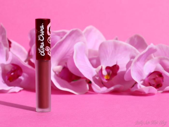 blog beauté lime crime velvetines raisin hell