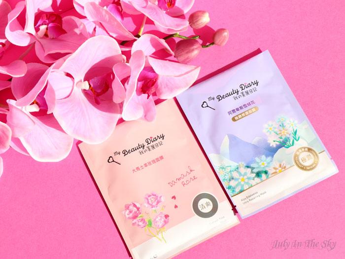 blog beauté mooni my beauty diary damask rose edelweiss