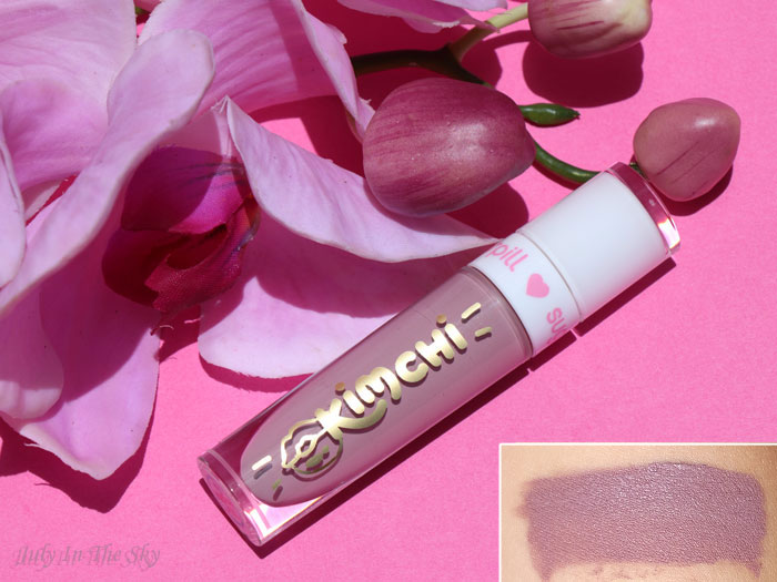 blog beauté sugarpill liquid lip color kim chi