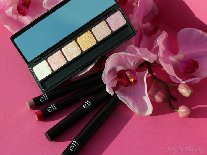 blog beauté E.L.F., eyes, lips, face