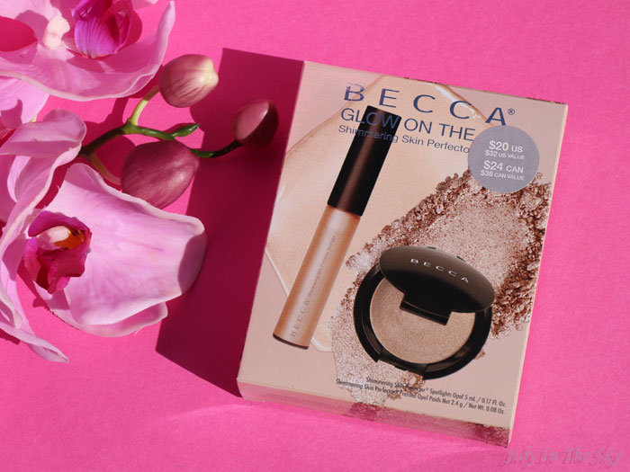 blog beauté becca Glow On The Go highlighter shimmering opal