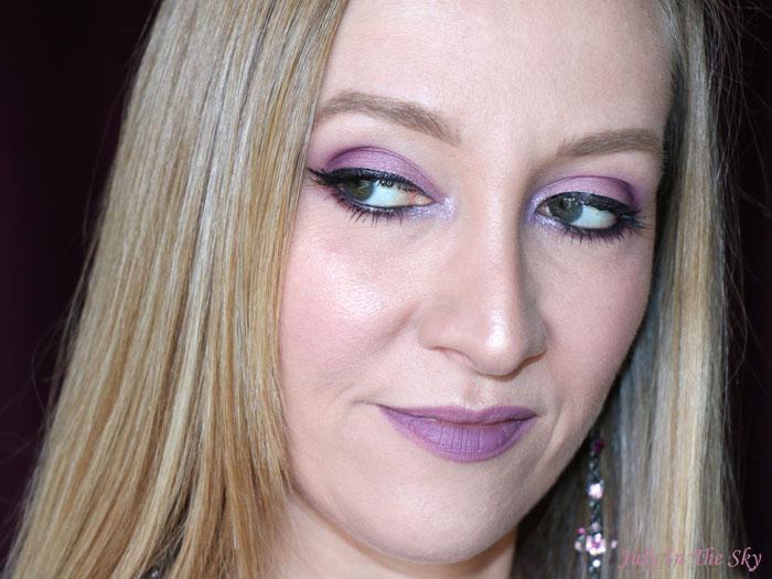 blog beauté maquillage mariage mariée mauve violine