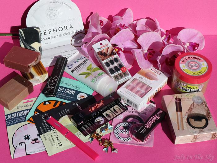 blog beauté shopping USA becca kat von d Kiss Impress nars