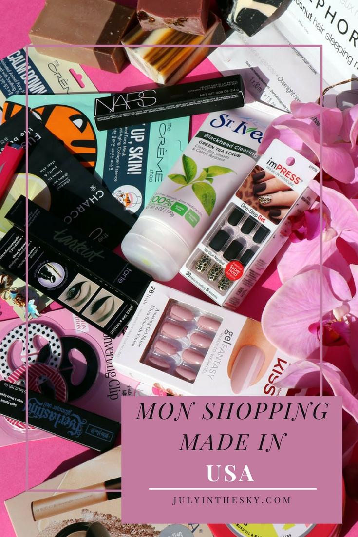 blog beauté Shopping USA Soap and Glory Impress St Ives Becca Kat Von D Tarte