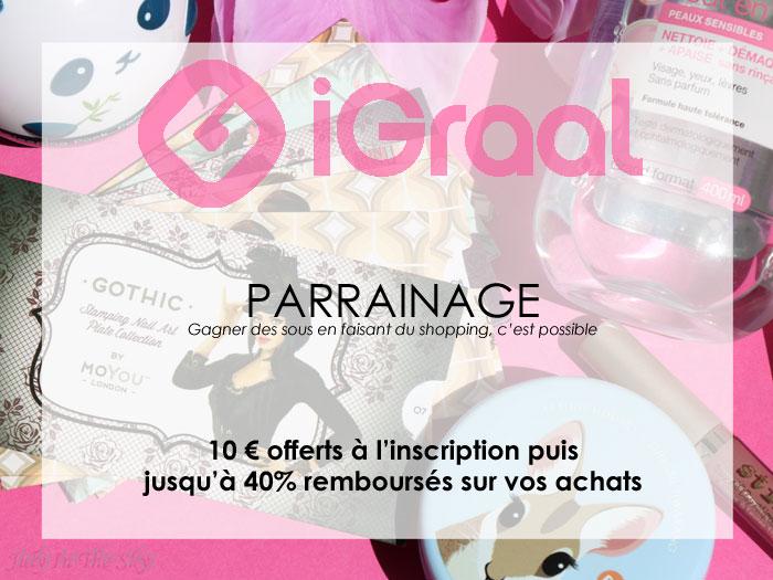 blog beauté partenariat igraal code réduction
