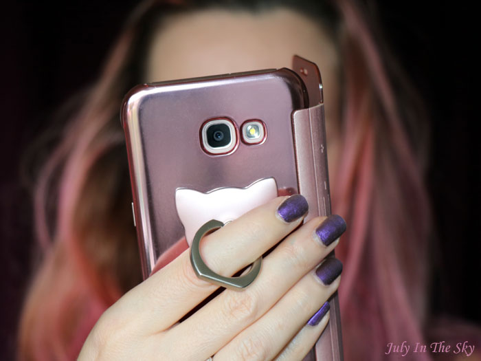 blog beauté favoris ring cat phone Yesstyle