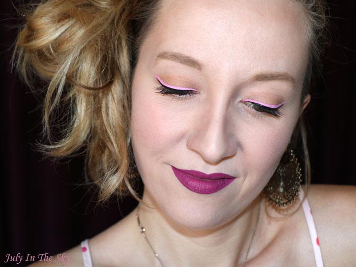 blog beauté nyx vivid brights liner petal