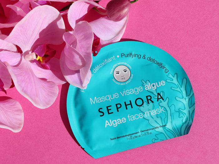 blog beauté masque visage algues sephora