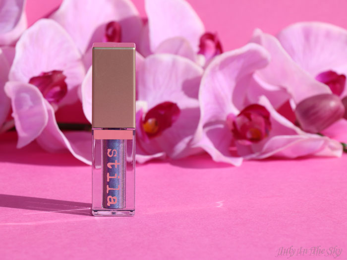 blog beauté beauty stila magnificent metals glitter and glow liquid eye shadow duo chrome into the sea