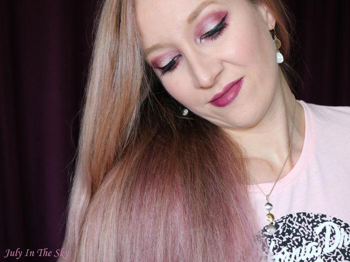 blog beauté unicorn hair tint sext pink cheveux licorne tigi