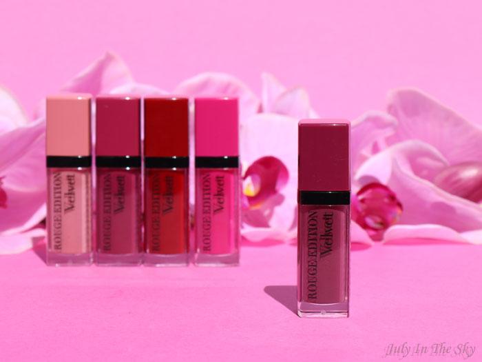 blog beauté RDV Beauté maquillage Bourjois Rouge Edition Velvet Ultra Violette
