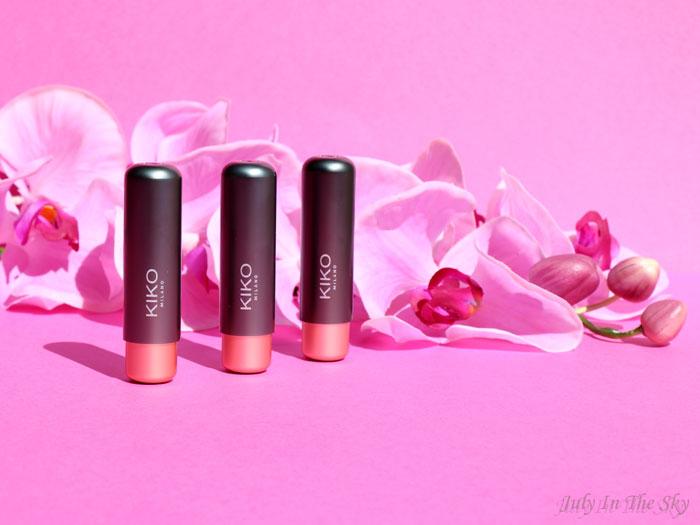 blog beauté kiko velvet matte lipstick crazy colours