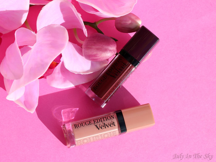 blog beauté bourjois rouge édition velvet avis test swatch floribeige berry chic