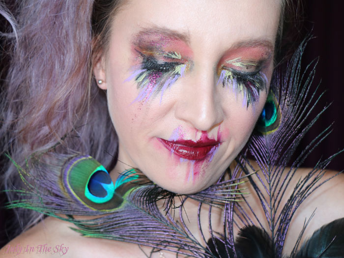 blog beauté tutoriel maquillage Art&Freak Show abstrait Abstraction Post Coachella