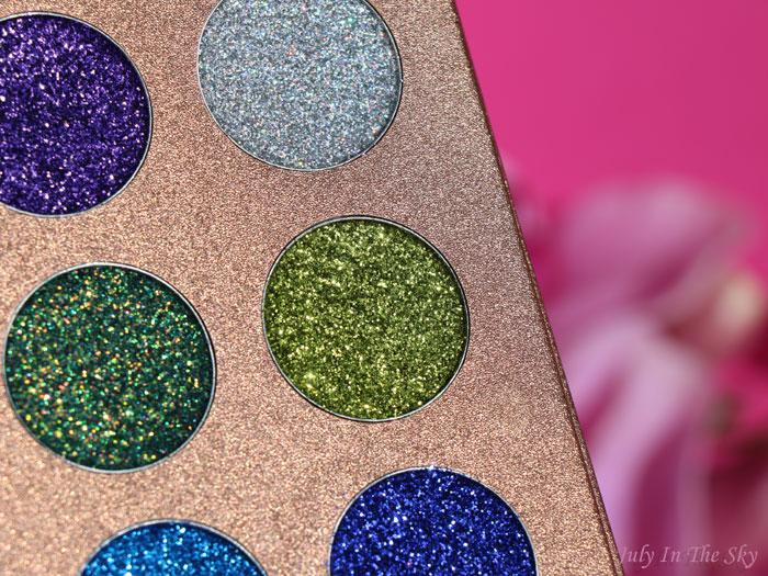 blog beauté Bomb Dot Com Palette Jolie Beauty avis swatch