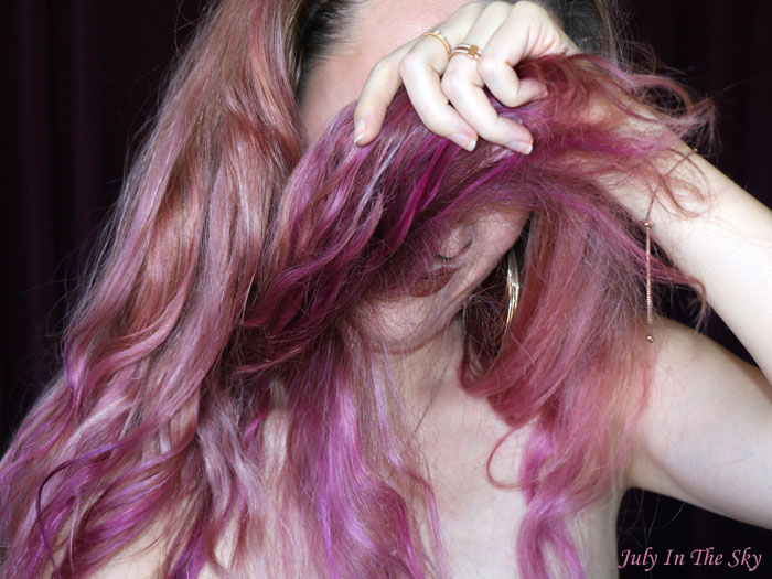 blog beauté colorista L'Oréal washout burgundyhair