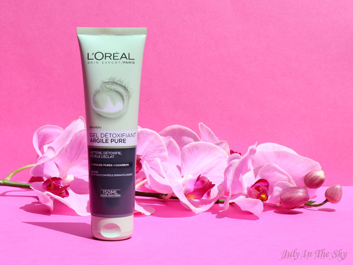 blog beauté avis L'Oréal gel détoxifiant Argile Pure