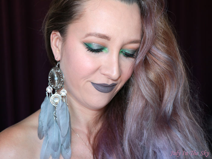 blog beauté tutoriel maquillage Monday Shadow Challenge gris émeraude