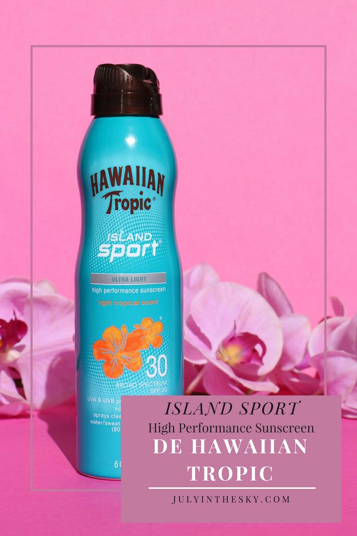 blog beauté Hawaiian Tropic Island Sport avis