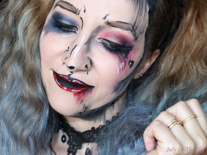 blog beauté tutoriel maquillage RDV Beauté : Pop Art Suicide Squad Harley Quinn