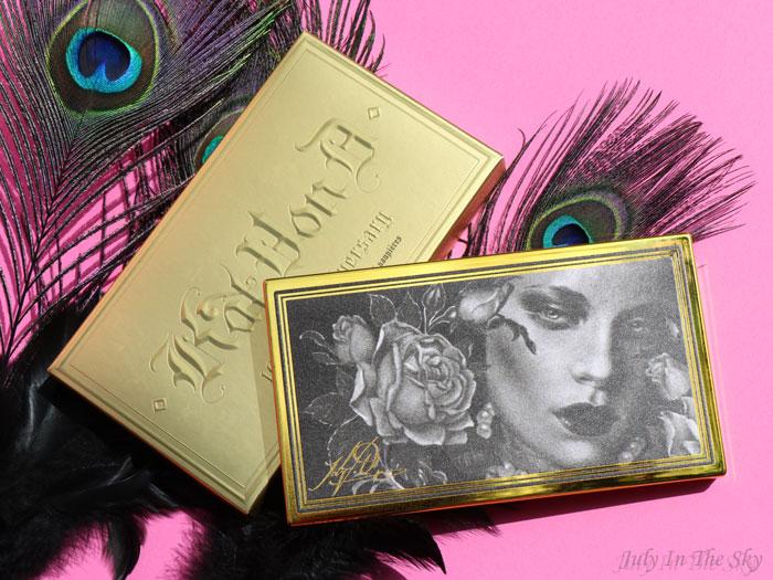 blog beauté Kat Von D 10th Anniversary Collection avis test swatch