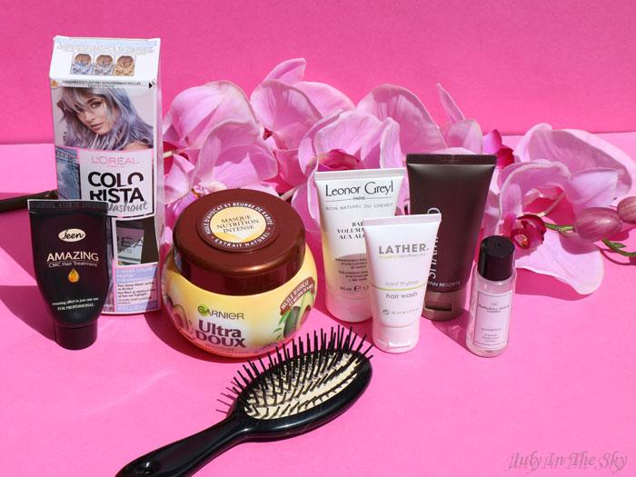 blog beauté produits terminés cheveux