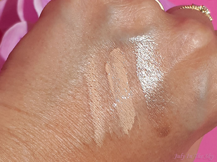 blog beauté You Are Cosmetics avis test cruelty-free maquillage vegan crayon correcteur petra highlighter moonlight fond de teint fluide natural swatch