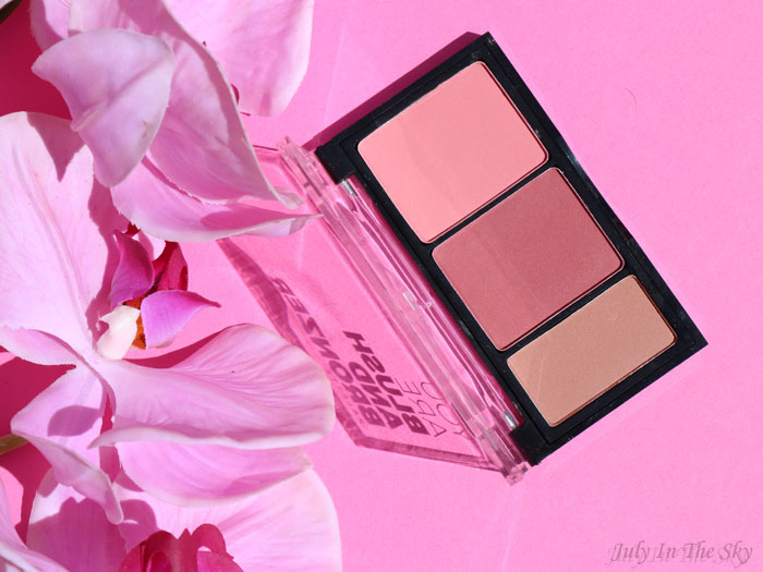 blog beauté You Are Cosmetics avis test cruelty-free maquillage vegan palette blush et bronzer sissoo